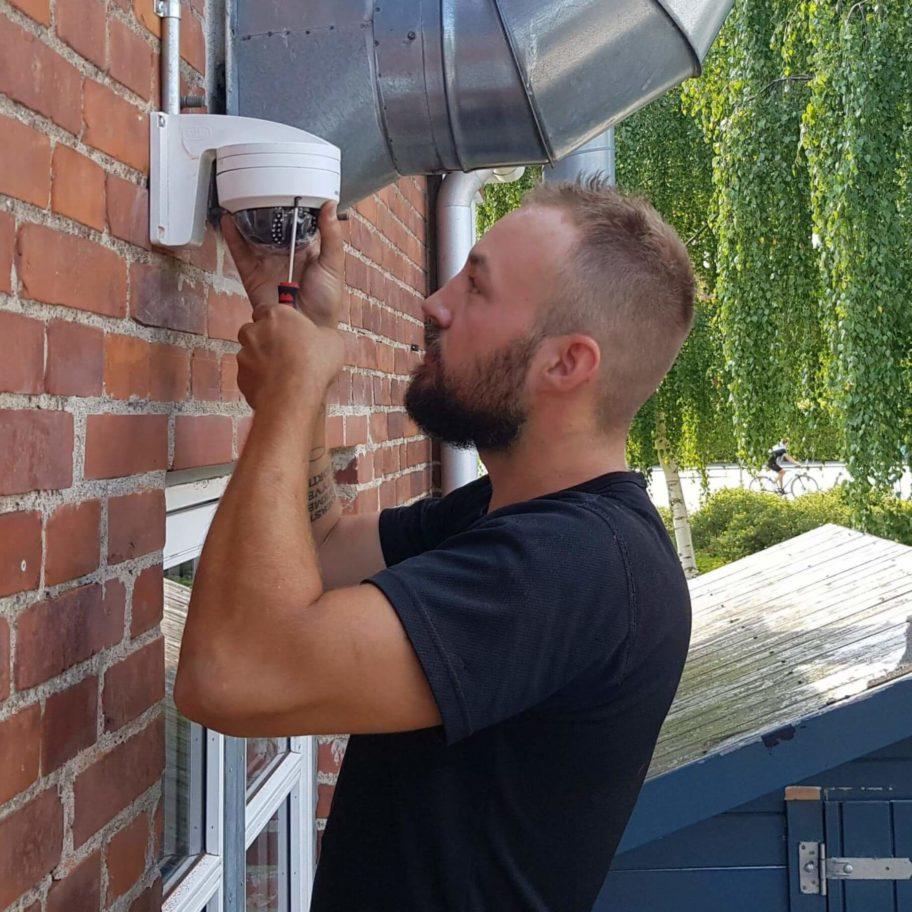 Norh Låsesmed Nørrebro monterer overvågning i København N