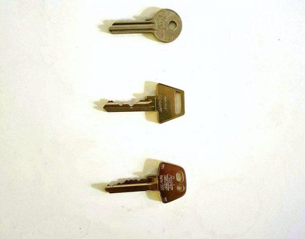 Låse, Hvad har du for nøgle, se model her.